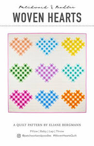 Woven Hearts Quilt Pattern
