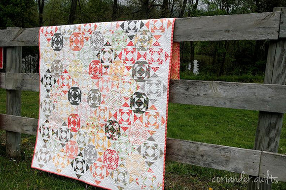 Droplets Quilt Pattern