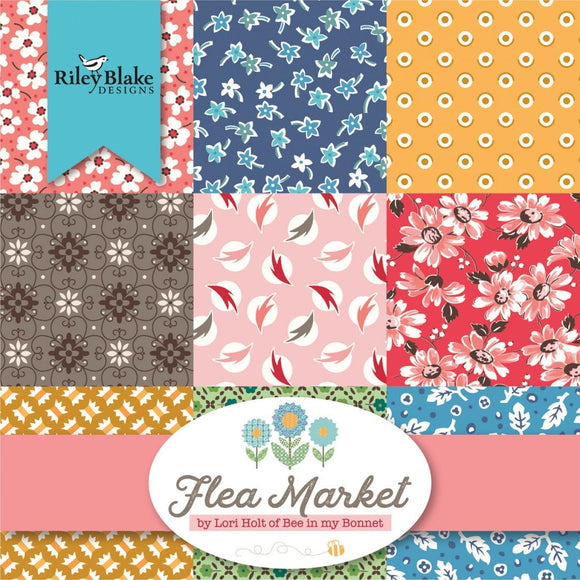 Flea Market Fat Quarter Bundle by Lori Holt