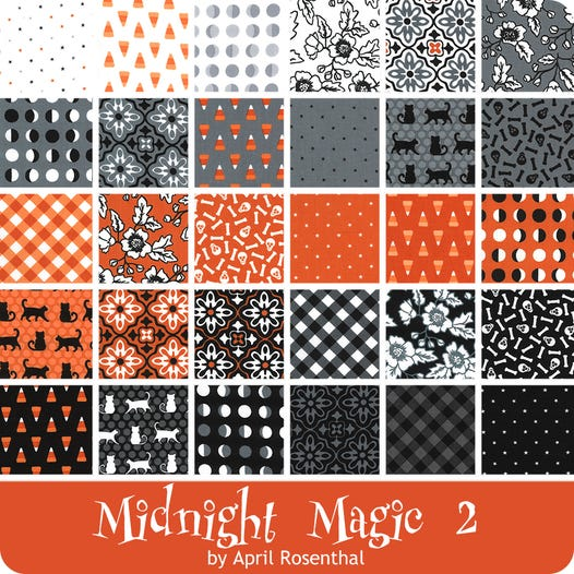 Midnight Magic 2 30pc Fat Quarter Bundle