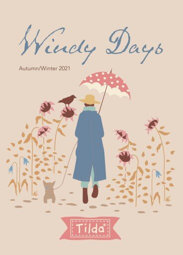 Windy Days 20pc Fat Eighth Bundle by Tilda