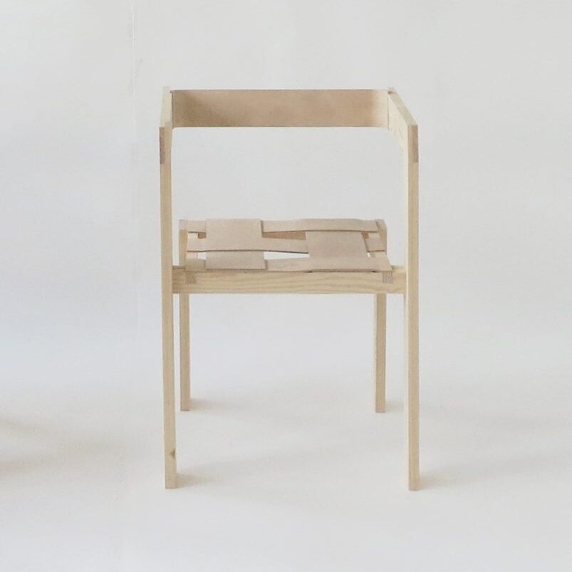 Snickerboa chair