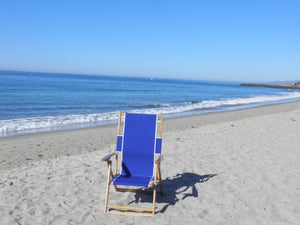 Reclining Beach Lounge Chair (seated 13 inches off ground) beachgenie