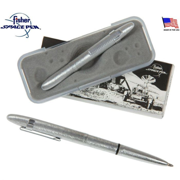BULLET SPACE PEN, BRUSHED CHROME, CLIP