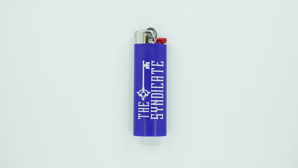 Navy Blue Syndicate Bic Lighter