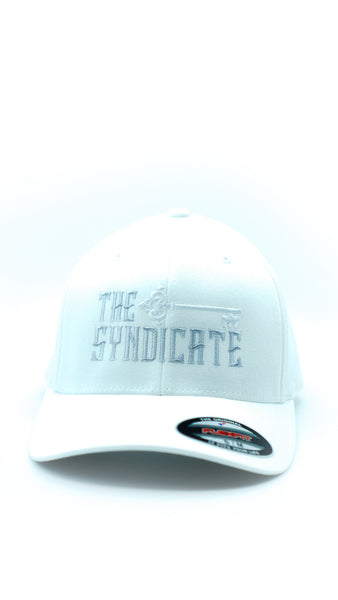 White Syndicate Flex Fit Hat