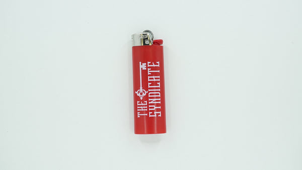 Red Syndicate Bic Lighter