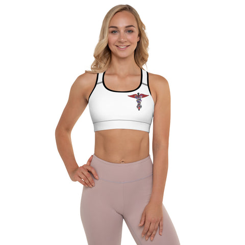 Martial Arts Med. Padded Sports Bra