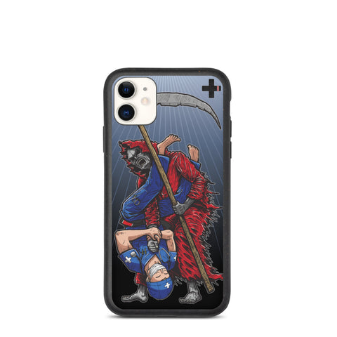 Healthcare vs. Grim Armbar Biodegradable Phone Case