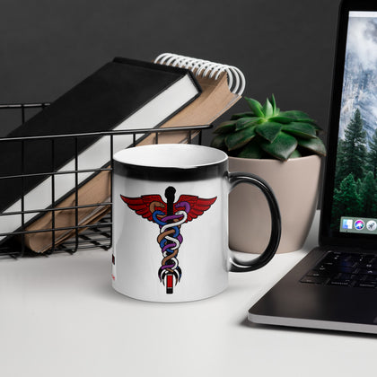 BJJ Caduceus Magic Mug
