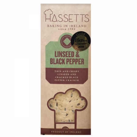 Linseed & Black Pepper Cracker