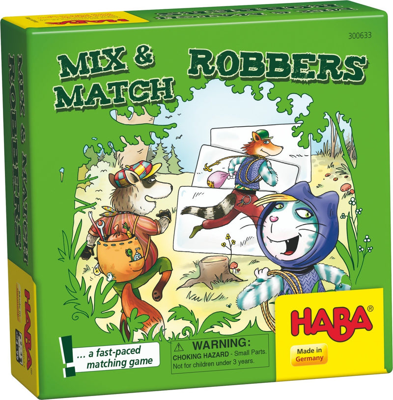 Haba Mix and Match Robbers