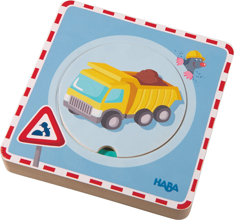 Haba Wooden Puzzle Construction Site