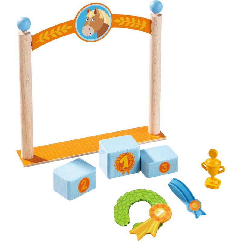 Haba Little Friends - Play Set Winner's Pedestal
