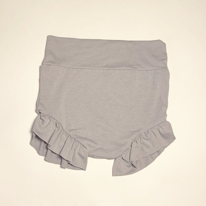 Sugar + Maple High Waisted Bloomer - Silver