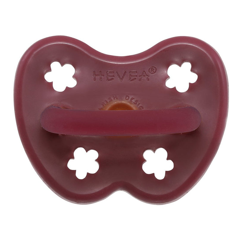 Hevea Ruby Orthodontic Pacifier (3-36m)