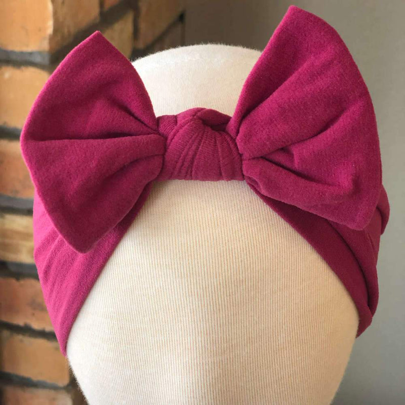 Sugar + Maple Baby Classic Bow Headband