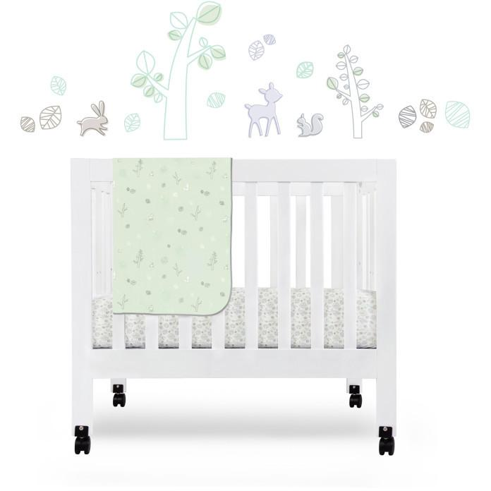 Babyletto Tranquil Woods Fitted Mini Crib Sheet