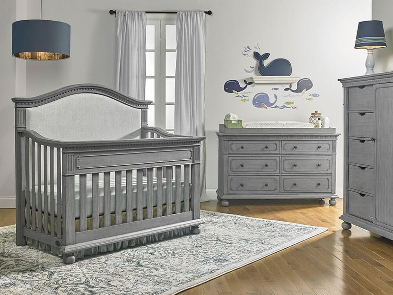 Dolce Babi Naples Upholstered Convertible Crib