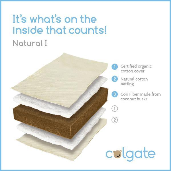 Colgate Eco Classica Natural I Crib Mattress