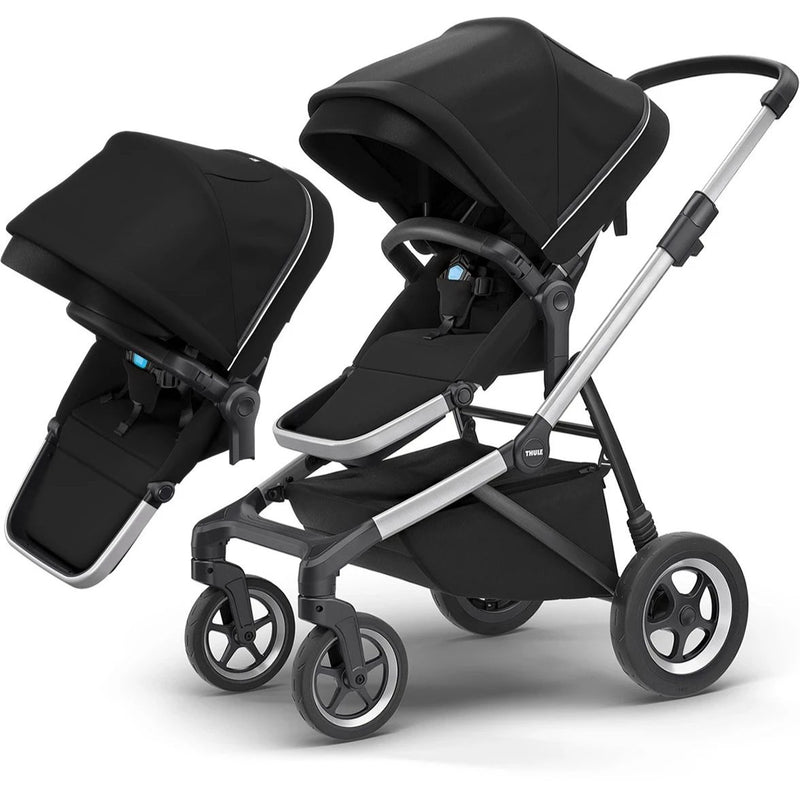 Thule Sleek + Sibling Seat Bundle