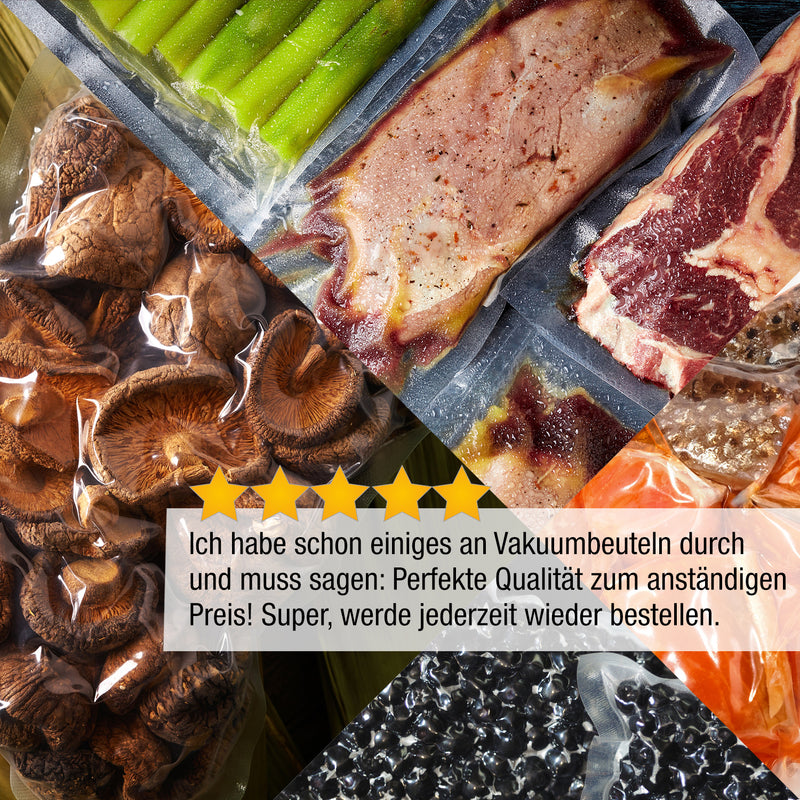 Rezension Vakuumbeutel