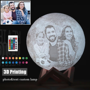Customized 3D Moon Lamp
