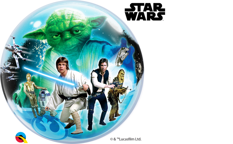 Bubble Balloon - 22 inch - Star Wars