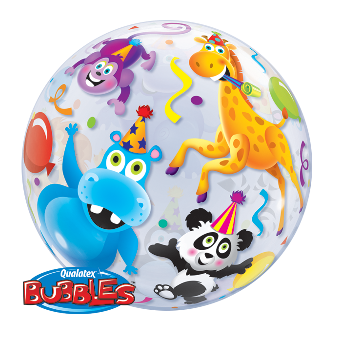 Bubble Balloon - 22 inch - Party Animals