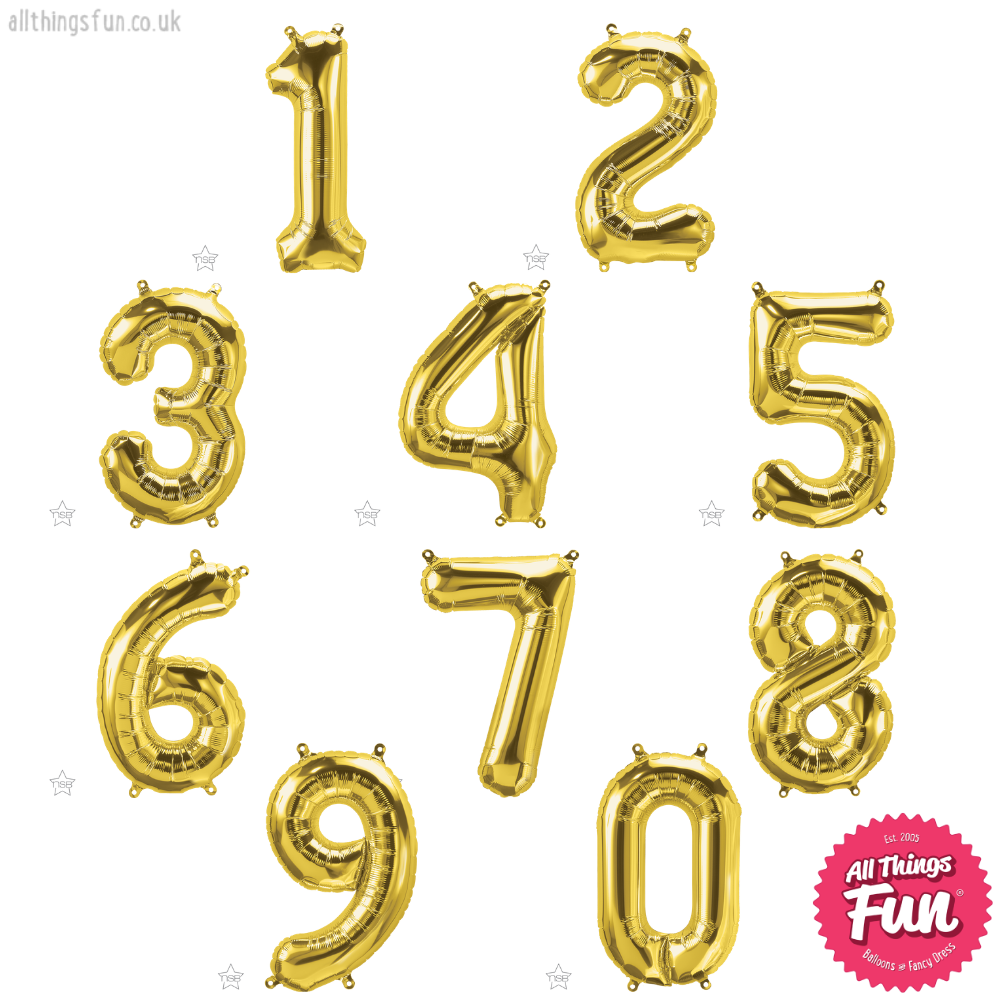 Confetti Dots Age Table Display