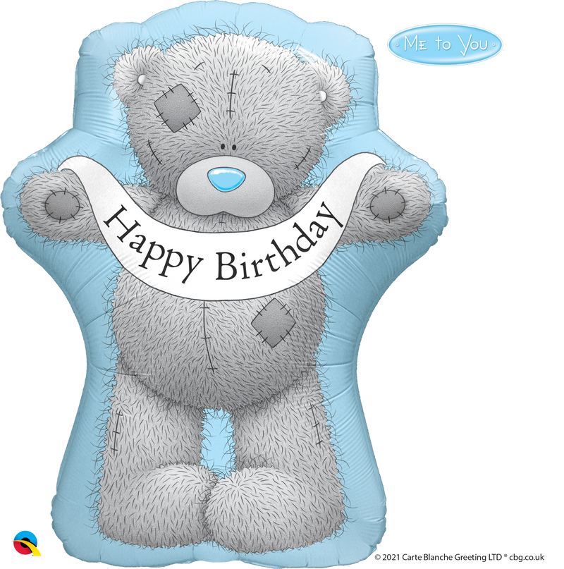 Printed Foil - Shape - Tatty Teddy Birthday Banner