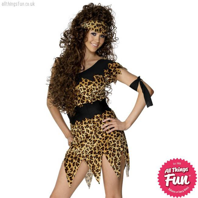 Female Cavewoman Costume