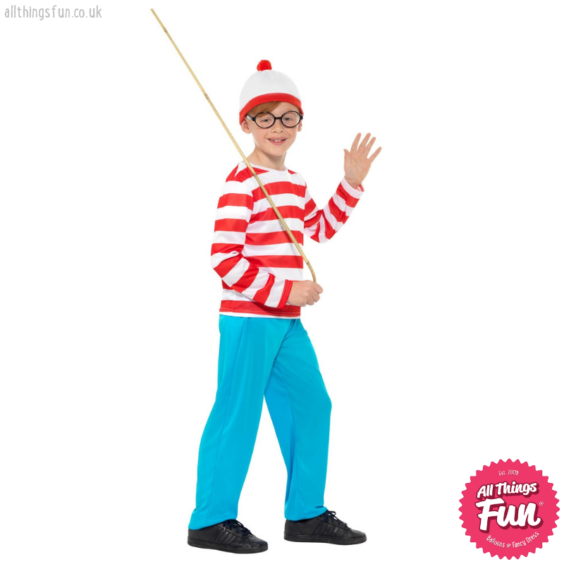Where's Wally? Child's Costume