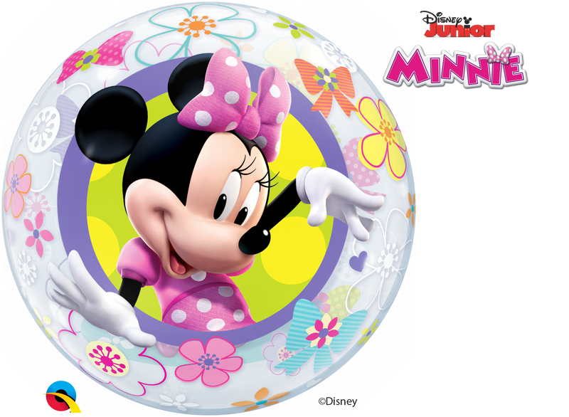 Bubble Balloon - 22 inch - Minnie Mouse Bow-Tique
