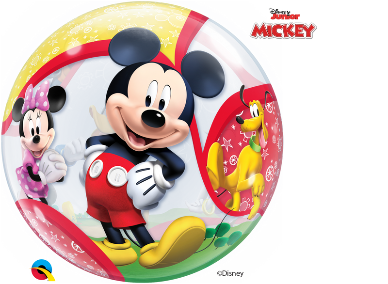 Bubble Balloon - 22 inch - Mickey & His Friends