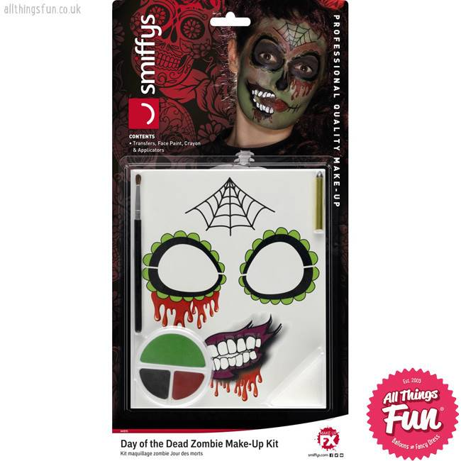 *SP* Day of the Dead Zombie Make-Up Kit