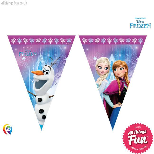NS Disney Frozen - Banner - Triangle Flag (9)
