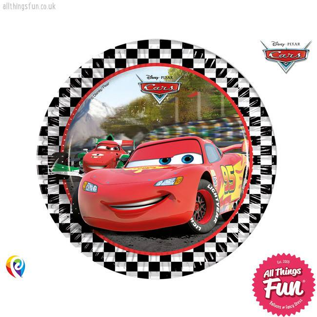 Disney Cars - Party Paper Plates
