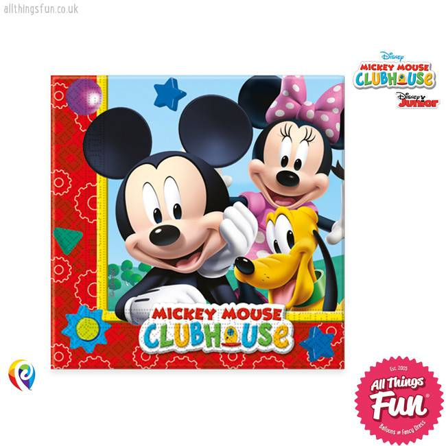 Playful Mickey - Party Napkins 20Ct