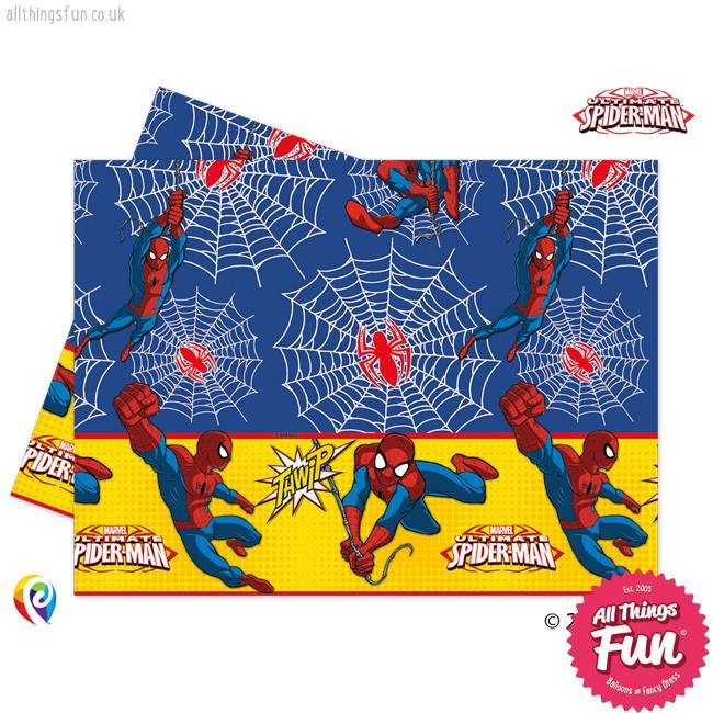 *DISC* Ultimate Spiderman - Party Table Cover 1Ct