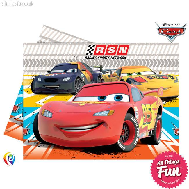 Disney Cars - Party Table Cover