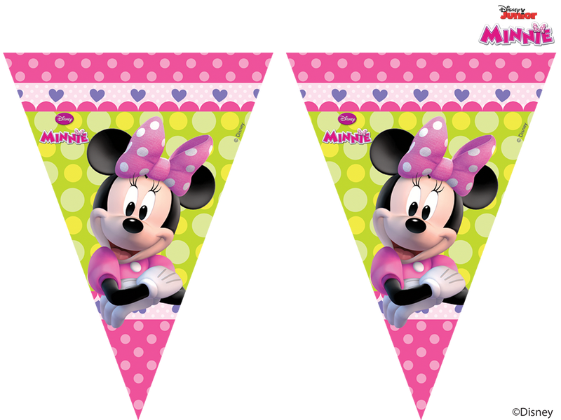 Disney Minnie Mouse - Flag Banner