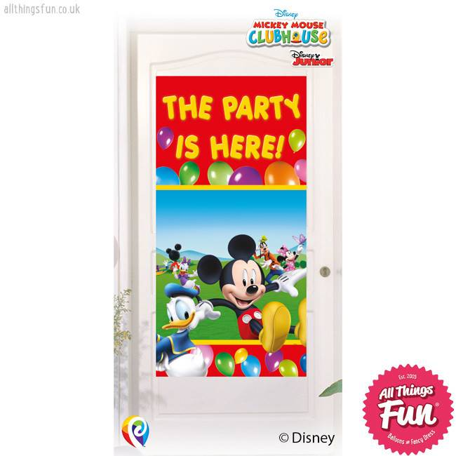 Playful Mickey - Door Banner