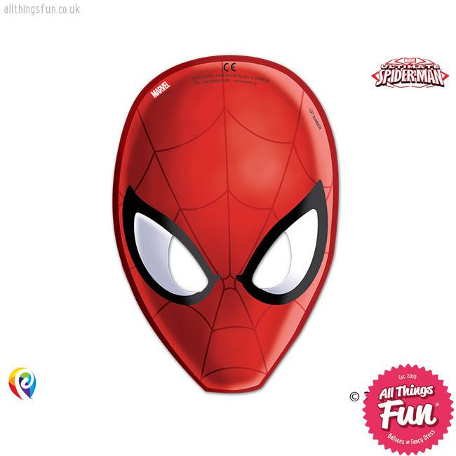 Marvel's Spiderman - Party Masks