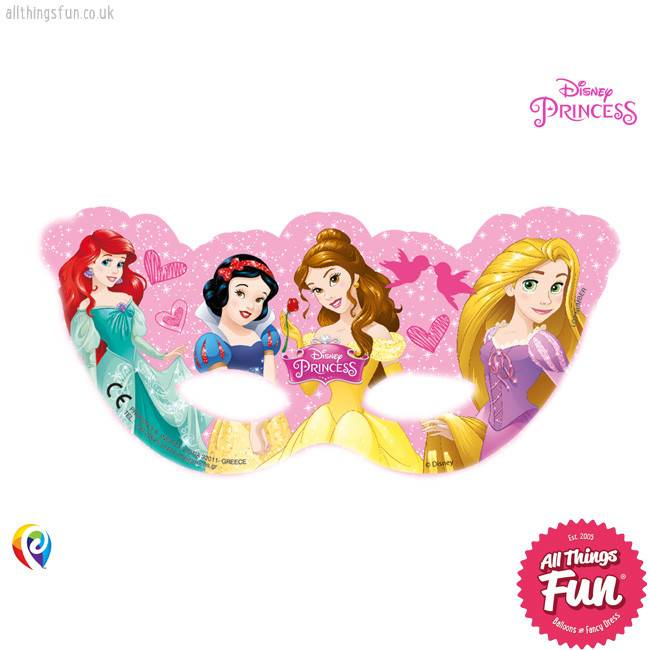 Disney Princess - Party Masks 6Ct