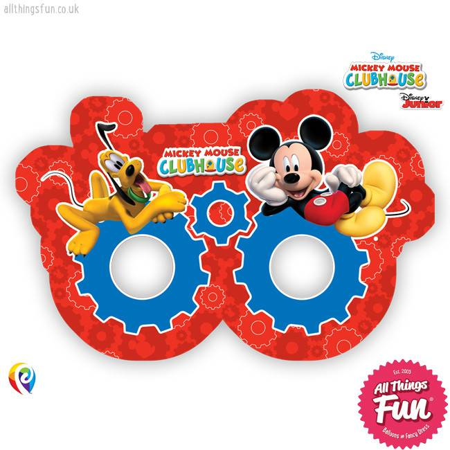 Playful Mickey - Party Masks 6Ct
