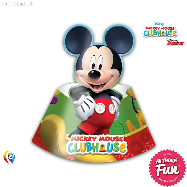 Playful Mickey - Party Hats 6Ct