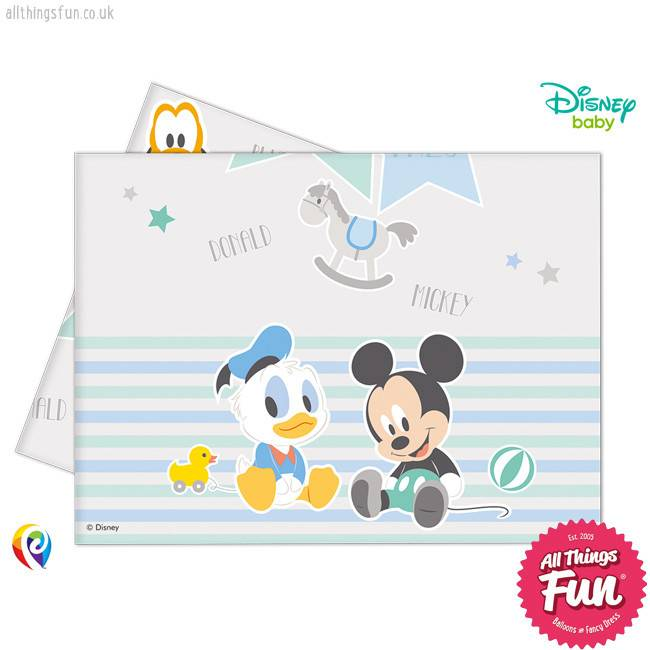 Infant Mickey - Party Table Cover