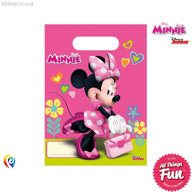 Disney Minnie Mouse - Party Bags 6Ct