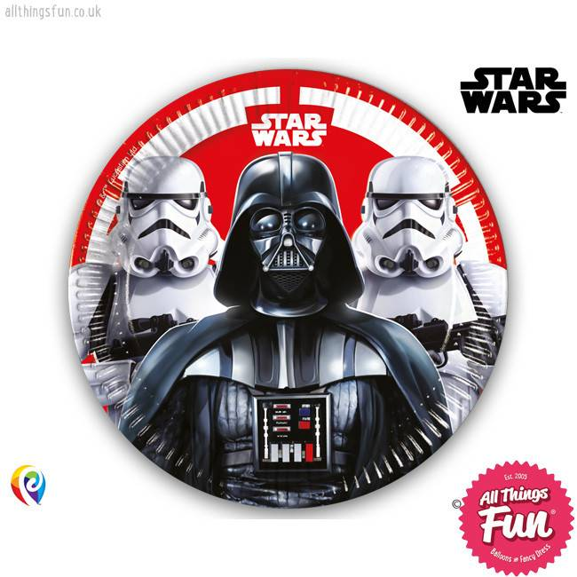 Star Wars - Party Paper Plates (23cm) 8Ct